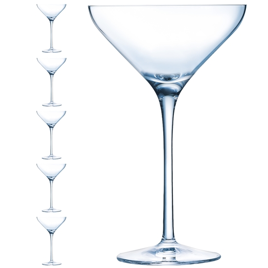 Kieliszek do martini CABERNET 210 ml zestaw 6 szt. - Hendi L3678