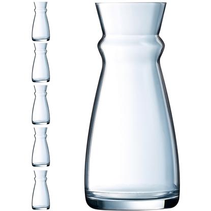 Karafka dzbanek szklany do wina wody napojów Arcoroc FLUID 0.5 l zestaw 6 szt. - Hendi L3963