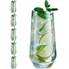 Szklanka wysoka LIMA 450 ml zestaw 6 szt. - Hendi L2356