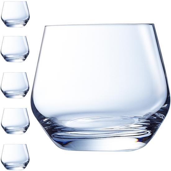 Szklanka niska LIMA 350 ml zestaw 6 szt. - Hendi G3367