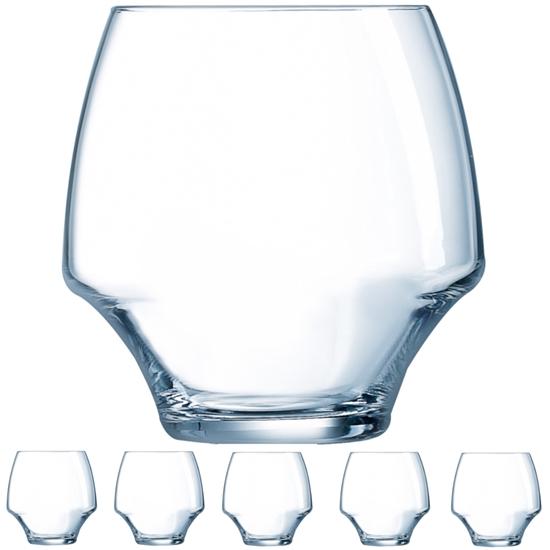 Szklanka OPEN UP 380 ml zestaw 6 szt. - Hendi U1033