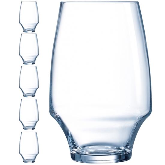 Szklanka OPEN UP 350 ml zestaw 6 szt. - Hendi U1041