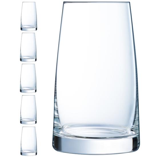 Szklanka ASKA 350 ml zestaw 6 szt. - Hendi L8675