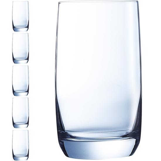 Szklanka wysoka VIGNE 220 ml zestaw 6 szt. - Hendi G3658