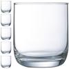 Szklanka niska HI BALL ELISA 230 ml zestaw 6 szt. - Hendi J4591