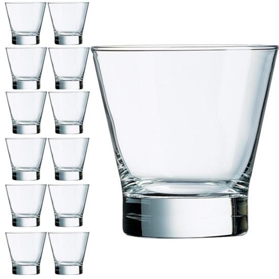 Szklanka Arcoroc SHETLAND 320 ml zestaw 12 szt. - Hendi 79741