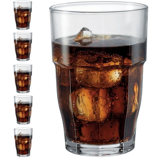 Szklanka wysoka ROCK BAR 646 ml zestaw 6 szt. - Hendi 735015