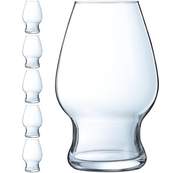 Szklanka do piwa Arcoroc BEER LEGEND 590 ml zestaw 6 szt. - Hendi L9941