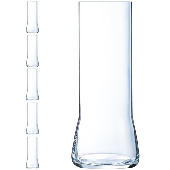 Szklanka do piwa Arcoroc BEER LEGEND 470 ml zestaw 6 szt. - Hendi L9943