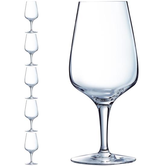 Kieliszek do wody piwa na nóżce SUBLYM MULTIPURPOSE 350 ml zestaw 6 szt. - Hendi N5368
