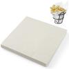 Papier pergaminowy do przekąsek frytek gładki 500 szt. 306x305 mm - Hendi 678213
