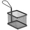 Koszyk do podawania smażonych przekąsek miniaturowy z uchwytem 100x80x75 mm - Hendi 425619