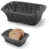 Koszyk na pieczywo prostokątny polipropylenowy czarny 190x130x60 mm - Hendi 426791