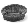 Kosz ekspozycyjny na pieczywo owoce skośny okrągły śr. 310 mm czarny - Hendi 426579