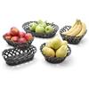 Koszyk pojemnik na owoce warzywa pleciony owalny 225x130x55 mm - Hendi 426234