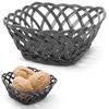 Koszyk pojemnik na owoce warzywa pleciony kwadratowy - Hendi 426227