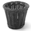 Koszyk do serwowania smażonych przekąsek czarny śr. 130x110 mm - Hendi 426050