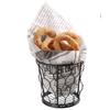 Koszyk druciany do podawania przekąsek frytek BASIC okrągły śr. 100 mm - Hendi 425817