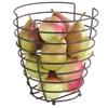 Koszyk miska druciana do owoców czarna z matową powłoką śr. 230 mm - Hendi 427187