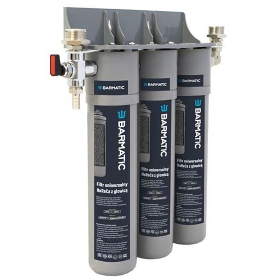 Filtr do wody uniwersalny z głowicą HoReCa 12 miesięcy - Hendi 947050