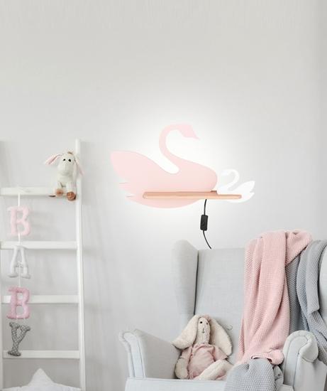 Kinkiet ścienny lampa półka LED 5W SWAN 21-05557