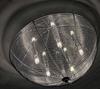 Plafon srebrny okrągły lampa sufitowa 5xG9 Ceiling 98-11640