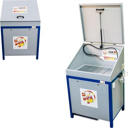 Myjka warsztatowa do części z obiegiem zamkniętym MST 800 z pokrywą