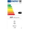 Zamrażarka skrzyniowa klapowa energooszczędna klasa A+ 70 W 140 l - Hendi 235911